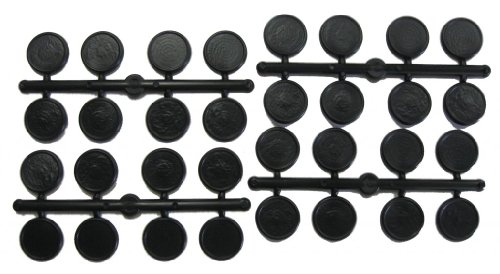 25 mm Round Figure Bases ()