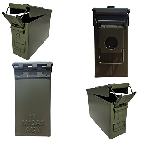 Ammo Can Man, LLC NEW 30 Cal Ammo Can - Blank (4-Pack)