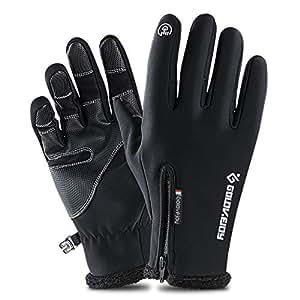 Amazon.com : Outdoor Waterproof Cycling Ski Gloves Winter