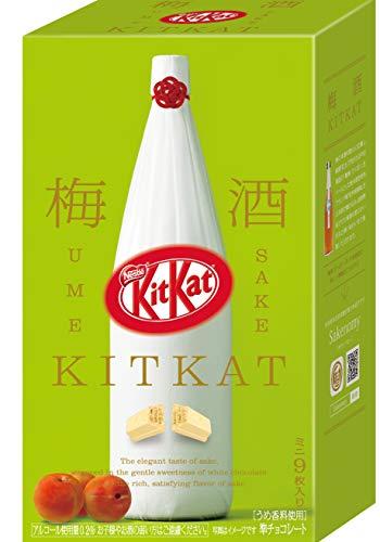 - Kit Kat Chocolate Mini Japanese Ume Sake Tsuruume 9 Bars