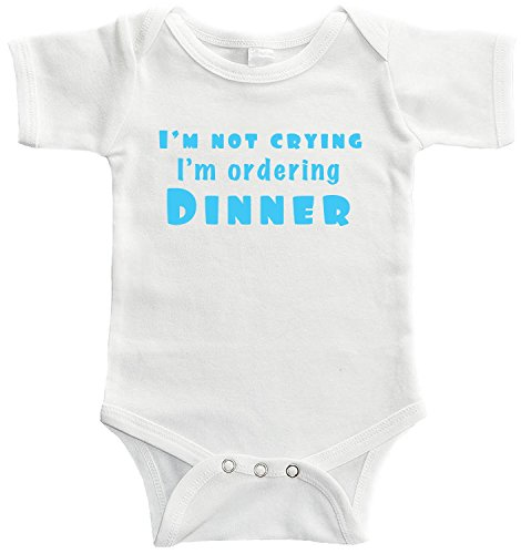 Starlight Baby Im Not Crying Im Ordering Dinner Bodysuit (0-3 -