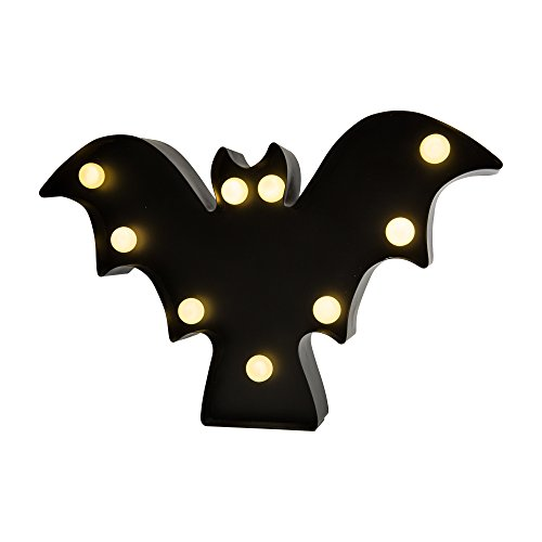 Mr. Christmas Indoor Marquee Shape Wall Hangings, Bat