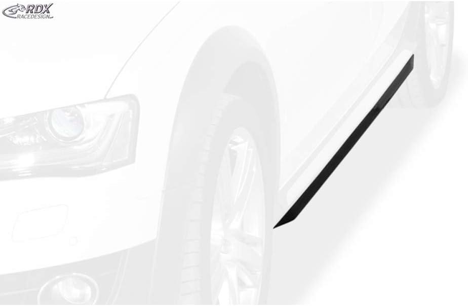B8 Allroad 2011- Faldas laterales Slim A4 RDX Redesign RDSL500093 ABS brillante negro