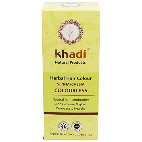 Khadi Natural Herbal Ayurvedic Natural Henna Senna Cassia / Neutral Hair Conditioning Powder Latest International Packaging (150 ()
