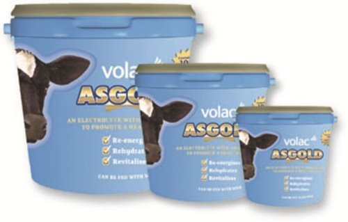 Volac ASgold Calf Electrolyte & Rehydration Supplement x Size  2.5 Kg