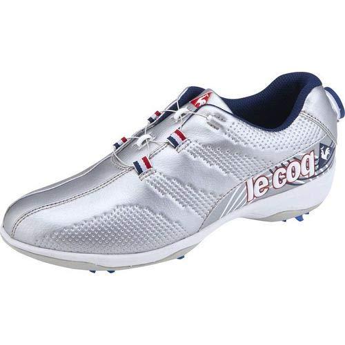 【レディース】ルコックゴルフ ゴルフシューズ QQ3NJA01 【シルバー(SV00)23.5cm】   B07MCGTMRK