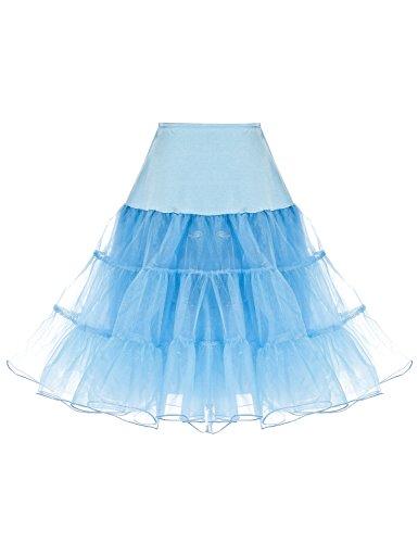 1316433acae9c Dressystar 1950s Women Vintage Rockabilly Petticoat Skirt Tutu Underskirt