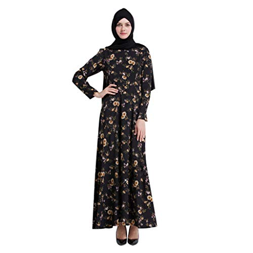 Abaya Kaftan☪☪ Muslim Women Ladies Slim Maxi Cocktail for sale  Delivered anywhere in USA
