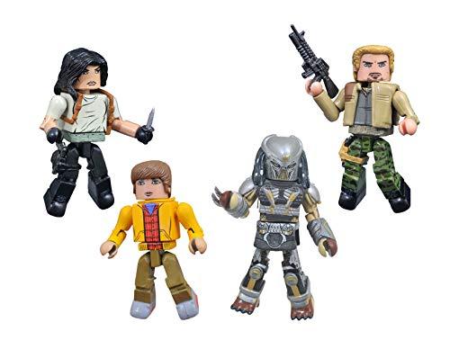 DIAMOND SELECT TOYS The Predator Movie Minimates Box Set