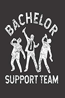Bachelor Support Team: Funny Summer Journal, Stag Party