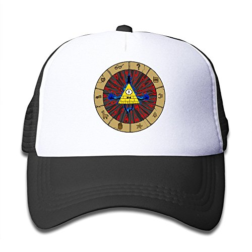 KEIOPO Youth Bill Boss Have God Eye Adjustable Mesh Trucker Caps - Bradley Colour Eye Cooper