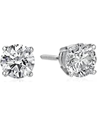 IGI Certified 14k Gold Lab Created Diamond Stud Earrings (1/4 - 4 cttw, I-J Color, SI1-SI2 Clarity)