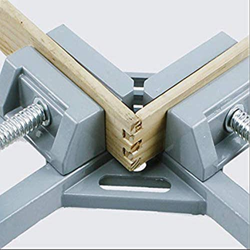 Chnellbacke 90 Degrees Right Angle Clamp Handed Aluminum Alloy Corner Clamp Right Angle Angle Clamp Outer Corner Clamp Angle Clamp For,Doppelgriff