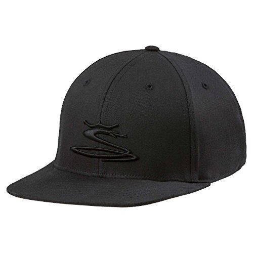 (Cobra Golf 2018 Tour Snake Snapback Hat (Black, One)