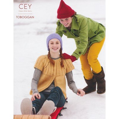 Classic Elite Patterns Knitting - Classic Elite 9147 Toboggan Knitting Pattern Booklet