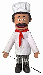 "25"" Chef Luigi, Full Body, Ventriloquist Style Puppet"