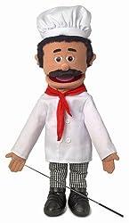 "25"" Chef Luigi, Full Body, Ventriloquist Style Puppet"