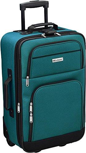 Leisure Luggage 21'' Expandable Upright Luggage Luggage 21 Inches Teal 21' Luggage