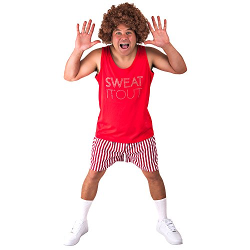 80s Exercise Costumes - Adult Richard Simmons