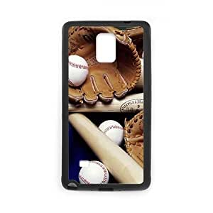 Samsung Galaxy Note 4 Cell Phone Case Black Baseball Ball QYU Phone Case Protective Customized