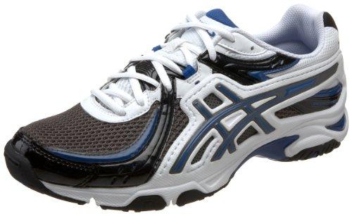 ASICS Men's GEL-Uptempo Training Shoe,Charcoal/White/Royal,12 - Inserts Shoes Running Asics