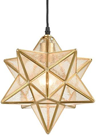 Dazhuan Brass Moravian Star Light