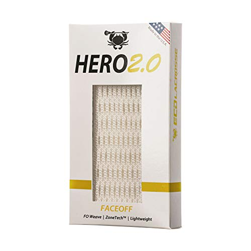 East Coast Dyes Lacrosse Hero 2.0 Mesh - Faceoff - White