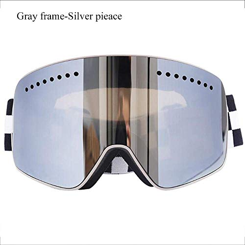 Polymer Exquisite Goggles Outdoor Men Women Ski Goggles Snowboard of Dual Lens with Anti Fog for UV Protection for - Ski Kids Snow Shape