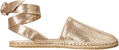 Loeffler Randall Espadrille pale Women's gold Heloise Sandal rRwqrPd