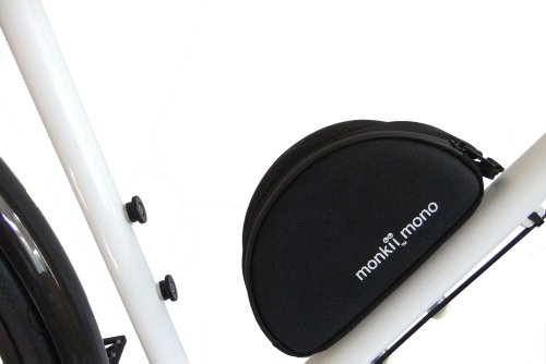 monkii mono Fahrrad-Werkzeugtasche zur Befestigung am Rahmen