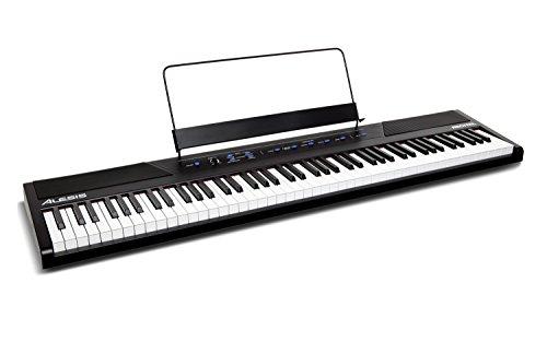 Alesis recital Piano digital para principiantes de 88 teclas con teclas semi pesadas de tamaño completo y fuente de alimentación