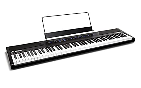 Alesis Recital 88-Key Beginner Digital Piano with Full-Size Semi-Weighted Keys and Included Power (Alesis Usb Midi)