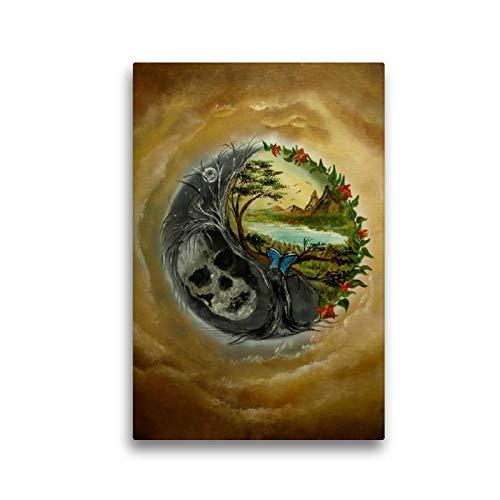 CALVENDO Toile Murale décorative en Tissu de qualité supérieure avec Impression sur Toile 30 x 45 cm