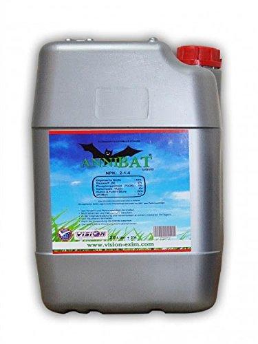 20 Liter flüssig Fledermausdünger Bio Dünger Bat Fertiliser Bat Guano