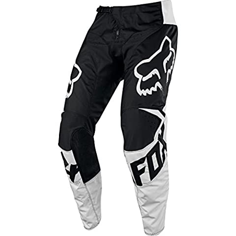 Fox Racing 180 Race Men's Off-Road Motorcycle Pants - Black / 34 - Mens Off Road Motorcycle