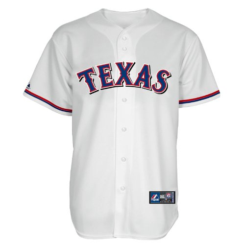 MLB Texas Rangers Nelson Cruz White Home Replica Baseball Jersey, White, X-Large