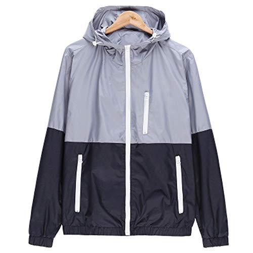 Men''s Zip Pocket Casual Outdoor Sportswear Windbreaker Lightweight Bomber Jackets Tops - Bomber Rib