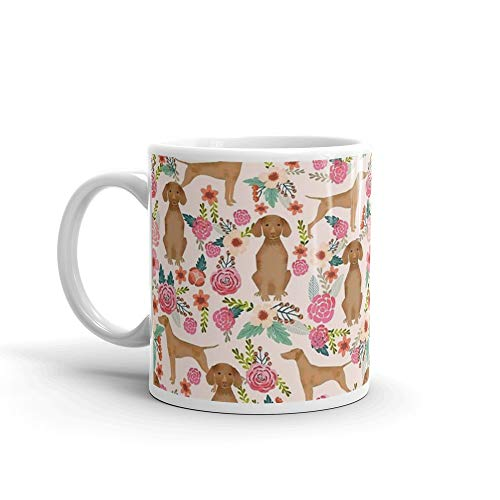 - Vizsla florals dog pattern dog gifts dog breeds pet portraits by pet friendly by PetFriendly. 11 Oz Mugs Makes The Perfect Gift For Everyone