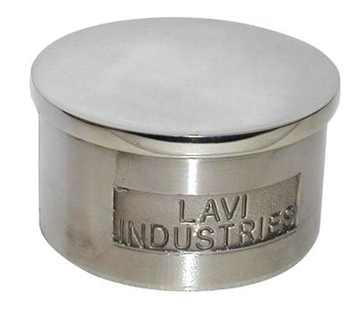 Lavi Industries 40-600/2 Polished Stainless Steel Flush End Cap 2