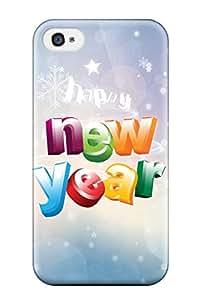 Sean Moore shop 5244737K72817684 Tpu MarvinDGarcia Shockproof Scratcheproof New Year Hard Case Cover For Iphone 4/4s