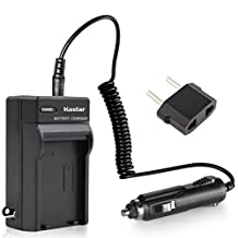 Panasonic VW-VBG130 VW-VBG260 Replacement Battery Charger for Home & Car by Pexell
