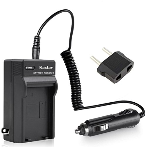 Battery Charger Kit fits Sony NP-F330/NP-F550/NP-F750/NP-F960/NP-F520/NP-F560/NP-F730/NP-F760/NP-F900/NP-F930/NP-F950/NP-QM51D/NP-QM71/NP-QM71D/NP-QM71D/NP-QM91/NP-QM91D/NP-FM55H/NP-FM50/NP-FM70/NP-FM90/JVC BN-V50U/BN-V60U/BN-V65/BN-V65U/BN-V607/BN-V607U/JVC BN-V615/BN-V615U/BN-V615X/BN-V812/BN-V812U/BN-V814U/Panasonic VW-VBD1/Hitachi VM-BP13/VM-BP27 (Home/Wall/Travel & Car Charger)-US for camcord