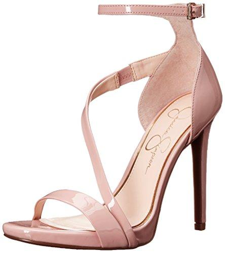 Jessica Simpson Women's Rayli Dress Sandal, Nude Blush, - Sexy Play High Heels