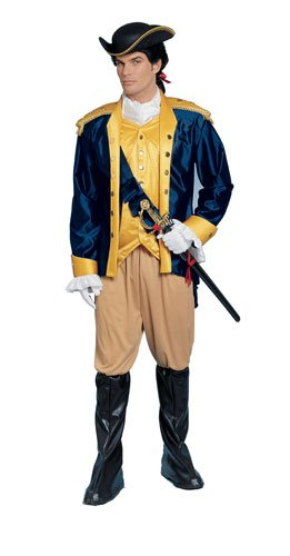 Costume Culture Men's Patriot Costume, Blue,