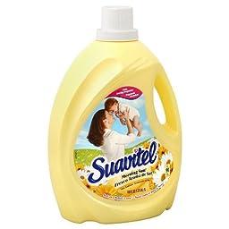 Suavitel 139106 Morning Sun Fabric Softener, 150 oz. Bottle (Pack of 4)
