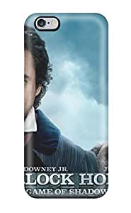 Hard Plastic Iphone 6 Plus Case Back Cover,hot Sherlock Holmes A Game Of Shadows Case At Perfect Diy