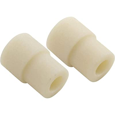 Stepped Sleeve Roller (White, Install On Upper Sideplate Legs, Thick: Garden & Outdoor