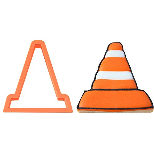 (Traffic Cone Cookie Cutter 4)