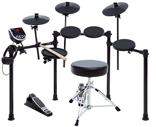 Price comparison product image Alesis Seven-Piece Electronic Drum Burst Kit with DM6 Drum Module Includes Drum Throne,  Drum Sticks,  and FREE Headphones