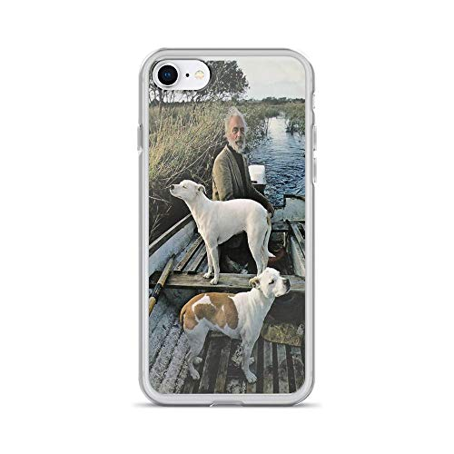 iPhone 7 Case iPhone 8 Case Clear Anti-Scratch Beard Man Dogs Boat, Movie Cover Phone Cases for iPhone 7/iPhone 8, Crystal Clear]()